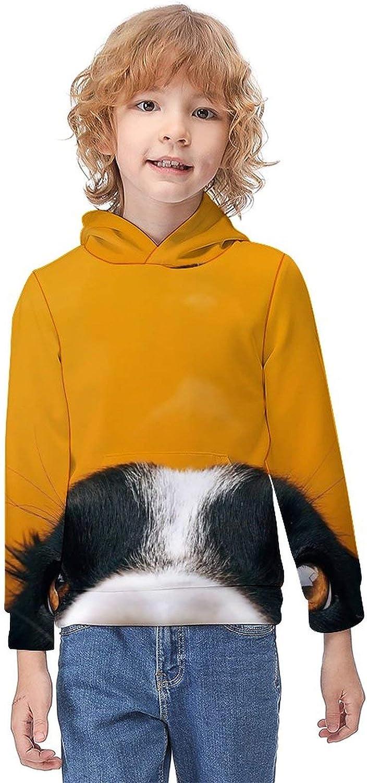 Bohemian Elephant Boys Girls 3D Novelty Hoodies Casual Long Sleeve Fashion Warm Pullover Sweatshirts for Daily Life
