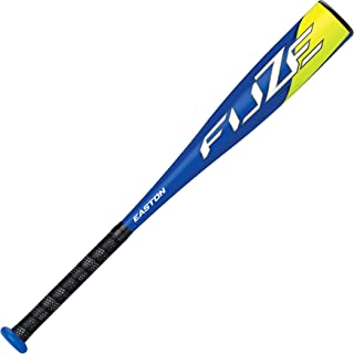 EASTON FUZE -11 USA Youth / Kids Tee Ball Baseball Bat | 2 5/8 Barrel | 2020 | 1 Piece Aluminum | Lightweight ALX100 Military Grade Alloy | Pro Style Concave End Cap | Comfort Grip | Tball Bat