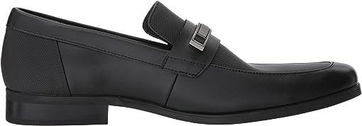 Black Soft Leather/City Emboss