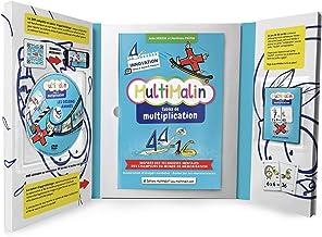 MultiMalin - Tables de Multiplication (coffret contenant 1 livret, 1 DVD et 1 jeu de cartes) - Apprendre les Multiplicatio...