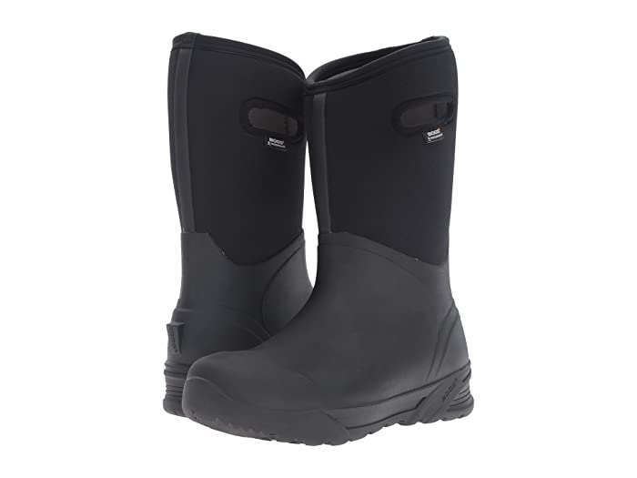Bogs  Bozeman Tall Boot (Black) Mens Waterproof Boots