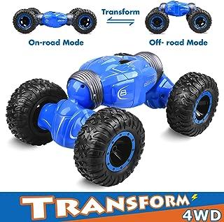 Longruner Remote Control RC Car, RC Cars 1:16 2.4G RC Trucks Rock Crawler Off Road Vehicles 4WD Dual Motors Electric Racing Car Toy for Kids & Adults LQ70