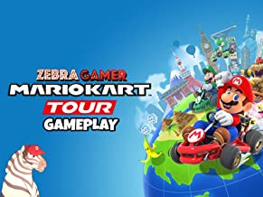 Clip: Mario Kart Tour Gameplay - Zebra Gamer