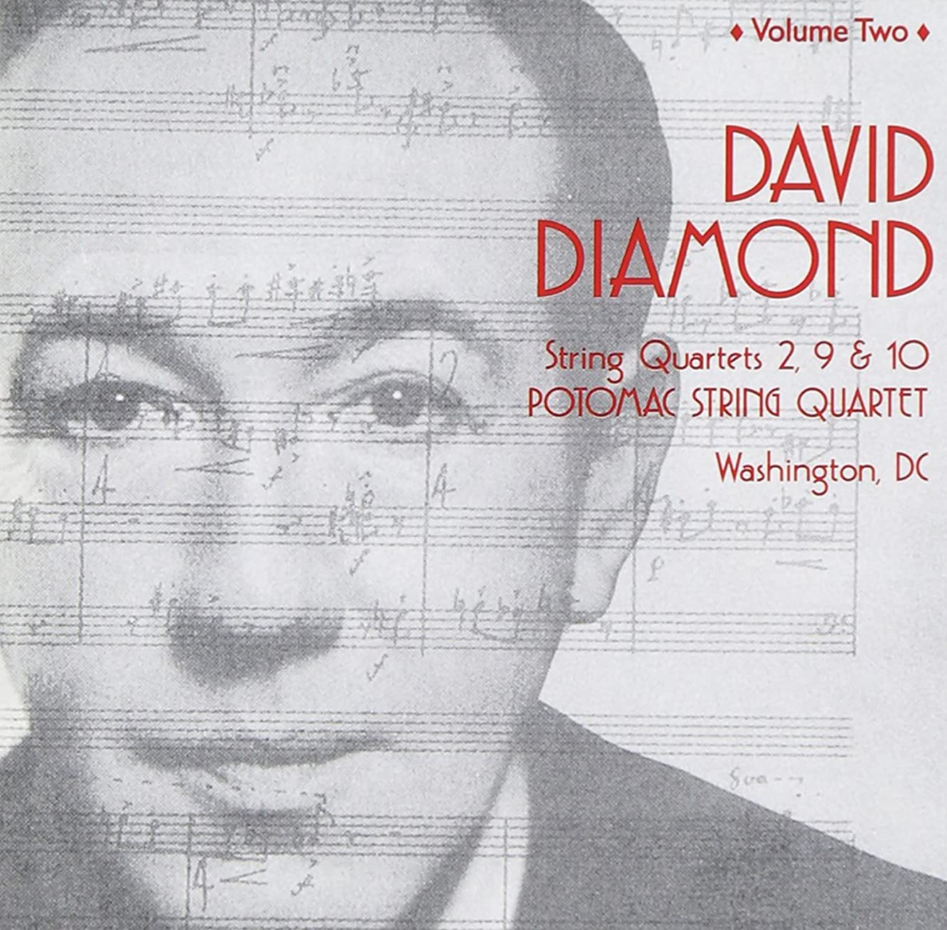 David Diamond, Vol. 2: String Quartets Nos. 2, 9 & 10