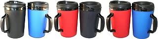 GAMA Electronics 34 oz. ThermoServ Coffee Travel Mug 6 Pack - Multi-Color