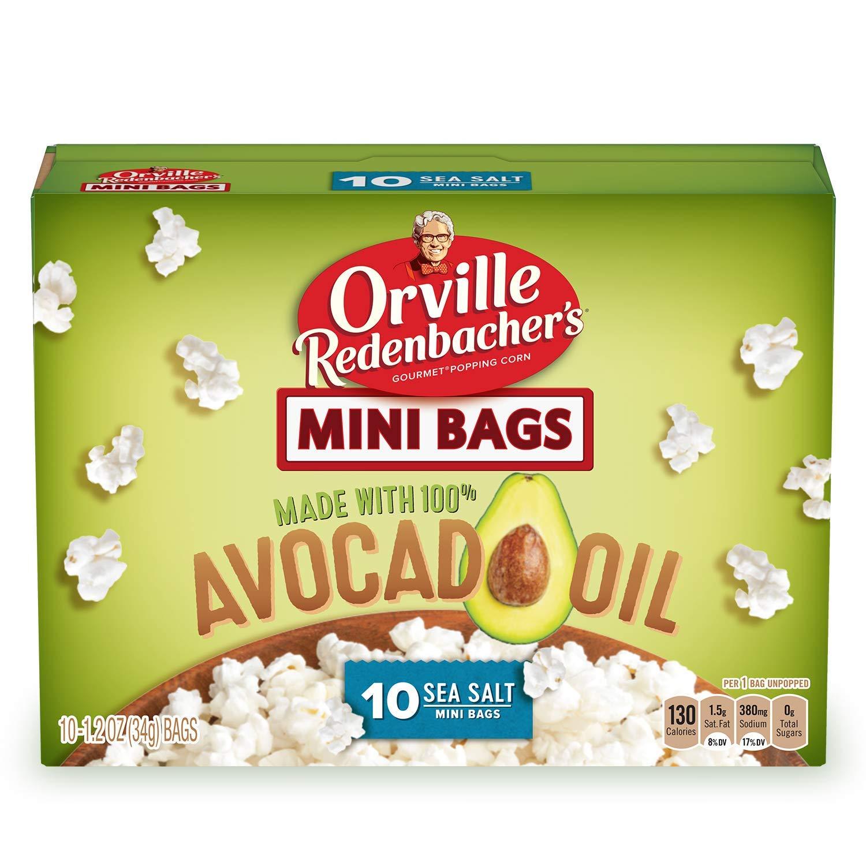 Orville Redenbacher's Save money Avocado Oil Low price Microwave oz. 2.72 Popcorn 10