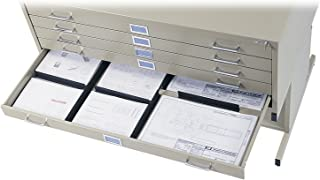 Safco Products 4980 Drawer Dividers for 5-Drawer Steel Flat