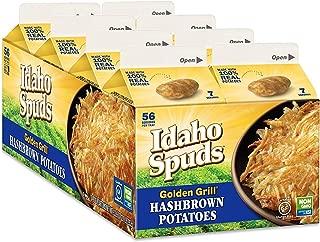 Golden Grill Russet Hashbrown Potatoes Net Wt 4.2 Ounce (119g) (16 Count Pack)