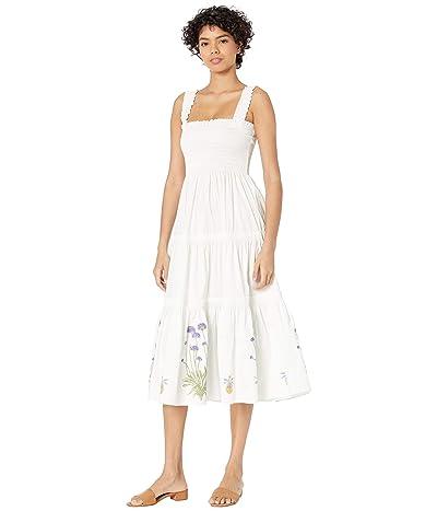 Tory Burch Swimwear Smocked Dress Cover-Up