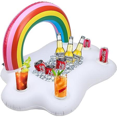 Nuage avec arc-en-ciel pour gonfler Rainbow Gonflable Arc-en-ciel avec nuage