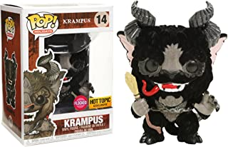 Funko Krampus - Flocked (Hot Topic Exc) Pop Holidays Vinyl Figure & 1 Compatible Graphic Protector Bundle (21858 - B)