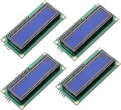 Qunqi 4Packs IIC I2C TWI 1602 Serial Blue LCD Module Board for Arduino UNO R3 MEGA2560
