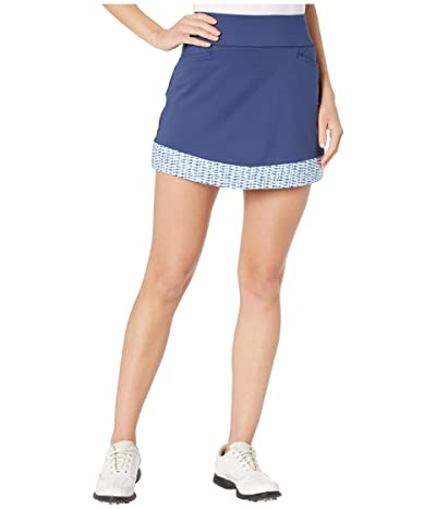 adidas Golf Ultimate365 Printed Knit Skort (Tech Indigo) Women