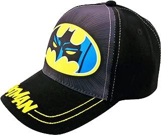 Toddler Baseball Hat for Boys Ages 2-4, Batman Kids Baseball Cap