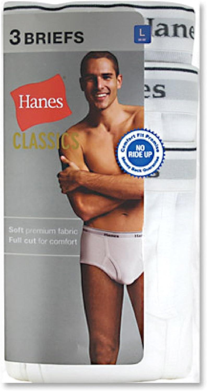 Hanes Ultimate mens 3-pack Classics Full Rise Brief