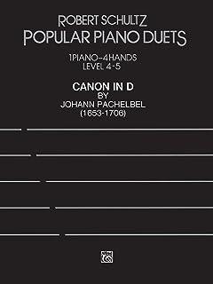 Canon in D: Advanced Piano Duet, Sheet (Popular Piano Duet S