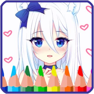 Anime Manga Coloring Pages - Best Free Coloring Book & Calming Apps 🤗