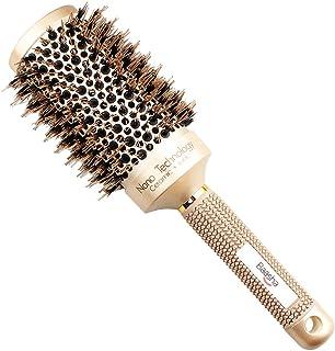 Baasha ヘア ブラシ ロールブラシ ヘアケアブラシ 櫛 コーム スタイリング ブラシ カール 巻き髪
