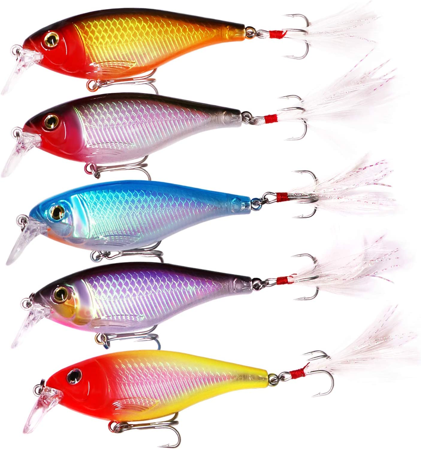 Details about  /Fishing Lure Bait Popper Gourd Shaped Crankbait Pencil Lure Ice Fishing Lure