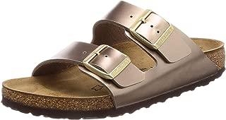 Womens Arizona BS Electric Metallic Taupe Narrow Sandals Size