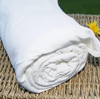Bamboo Organic Cotton Jersey Knit Fabric, Certified Organic, by The Yard