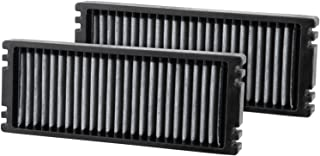 K&N Premium Cabin Air Filter: High Performance, Washable, Helps Protect against Virus and Germs: Designed For Select 2005-...