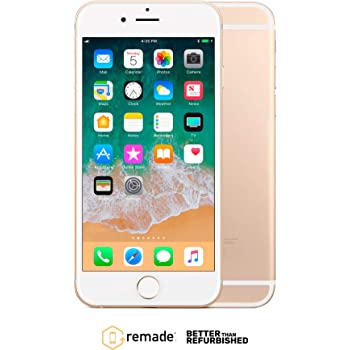 "Apple iPhone 6 64GB Oro 4.7"" Remade iOS Smartphone Reacondicionado ..."