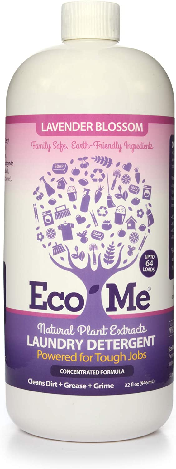 Eco Me Natural Non-Toxic Factory outlet Liquid Regular store Concentrated Laundry Detergent