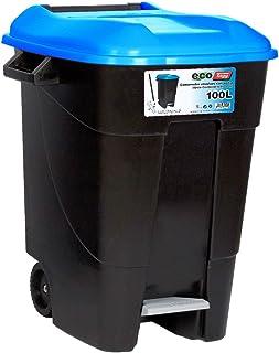 comprar comparacion Tayg 421020 Eco - Contenedor de Residuos Eco con Pedal, color Azul, 100 L