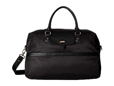 Lipault Paris Plume Avenue Duffel Bag (Jet Black) Duffel Bags