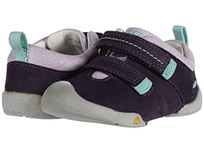 Keen Kids Pep Double Strap (Toddler) (Purple Plumeria/Sweet Lavender) Girl