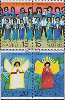 Nauru 143-146 Couples (Complete.Issue.) 1976 Christmas (Stamps for Collectors) Christmas