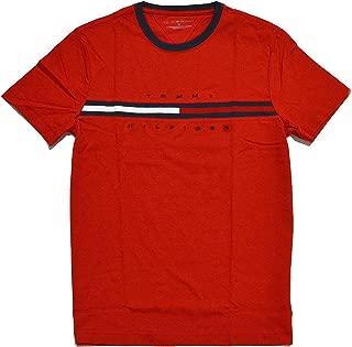 Tommy Hilfiger Men's Short Sleeve Crewneck Logo T Shirt