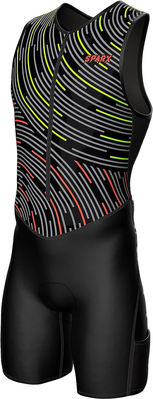Sparx Mens Premium Triathlon Tri Padded Suit Popular shop is Large-scale sale the lowest price challenge Race