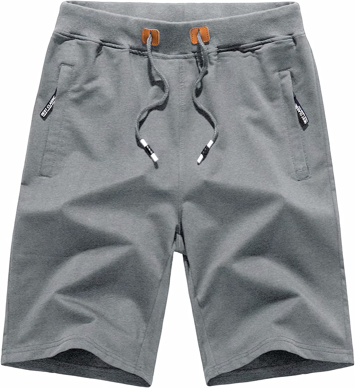 MAGCOMSEN Men's Workout Running Shorts Pockets Indianapolis Mall Dry Quick Max 58% OFF Zipper