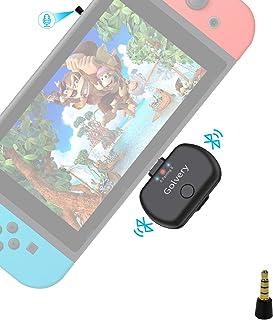 Golvery Bluetooth Audio Adapter for Nintendo Switch & PC, Type C/USB Bluetooth 5.0 Transmitter, Plug & Play, No Sound Lag,...