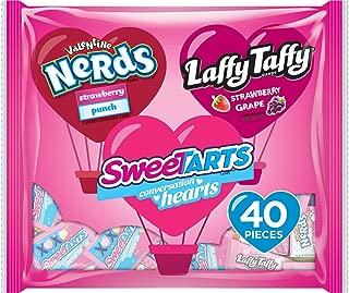 SweeTARTS Valentine's Sugar Assorted Friendship Exchange Bag, 40 Count