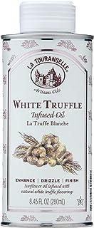 La Tourangelle, White Truffle Oil, Complex Gourmet Earthy Flavor for Drizzling over Pasta, Popcorn, Vegetables, Potatoes, ...