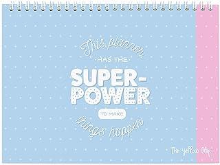 Organizador semanal escritorio Planificador semanal bloc de notas Weekly Planner Sin Fecha Agenda Calendario Por semana co...