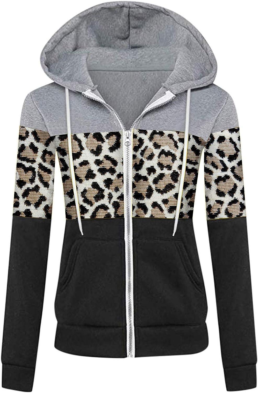 Hotkey Women Casual Sport Long Sleeve Up Surprise price depot Color Patchwork Zip Hoo