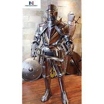 NauticalMart Medieval Knight Suit of Armor Costume - LARP Wearable Authentic