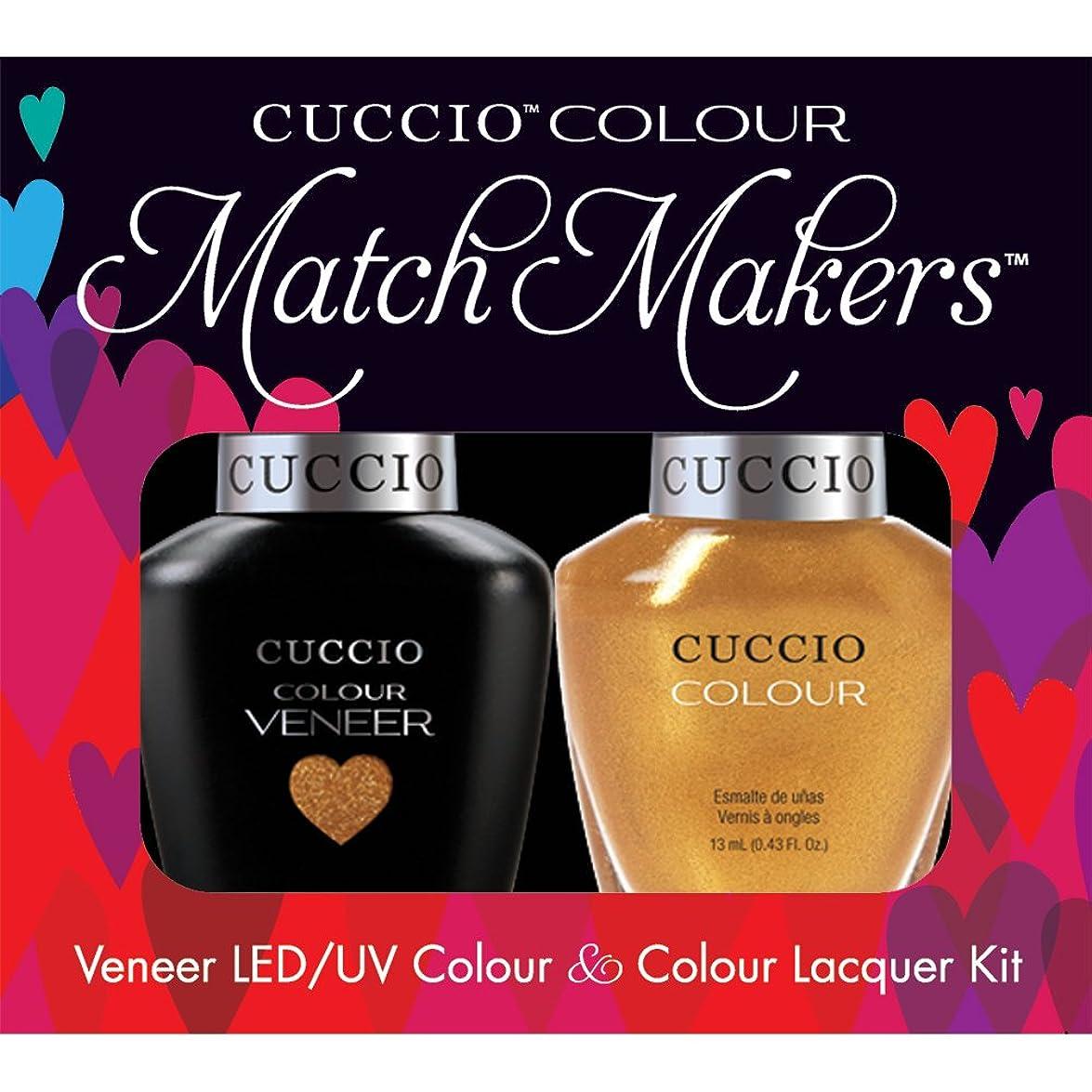 ご意見シュガー耕すCuccio MatchMakers Veneer & Lacquer - Russian Opulence - 0.43oz / 13ml Each