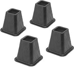 Whitmor Bed Risers - Black (Set of 4)