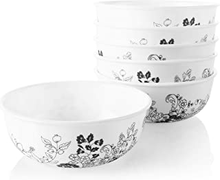 Corelle Chip Resistant Soup and Cereal Bowls, 6-Piece, Uptown Garden