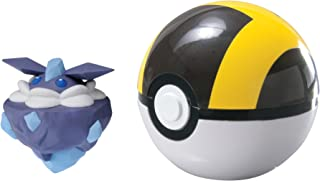Pokemon t19106–Tomy Poké Ball para viajes con mimikyu, Juguete de material de gran calidad para niños a partir de 4años , color/modelo surtido