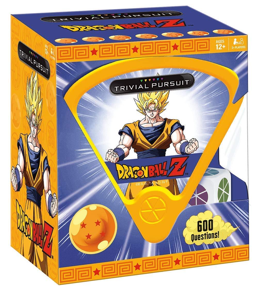 USAopoly Dragon Ball Z Trivial Pursuit Board Trivia Game Juego De Mesa - Ingles: Amazon.es: Juguetes y juegos