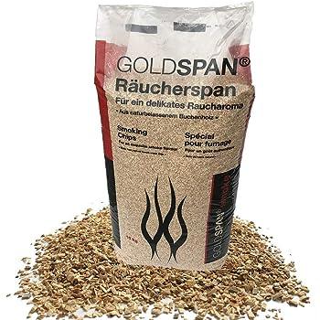 Springer Golden Smoke® Buche Räucherspäne KL 2-16 Beech Smoking Chips 15kg