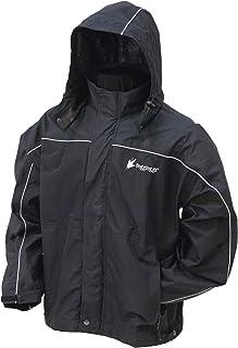 FROGG TOGGS Men's Toadz Highway Reflective Waterproof Breathable Rain Jacket