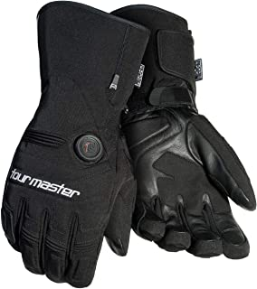Tourmaster Synergy 7.4V Battery Heated Textile Gloves (Small) (Black)