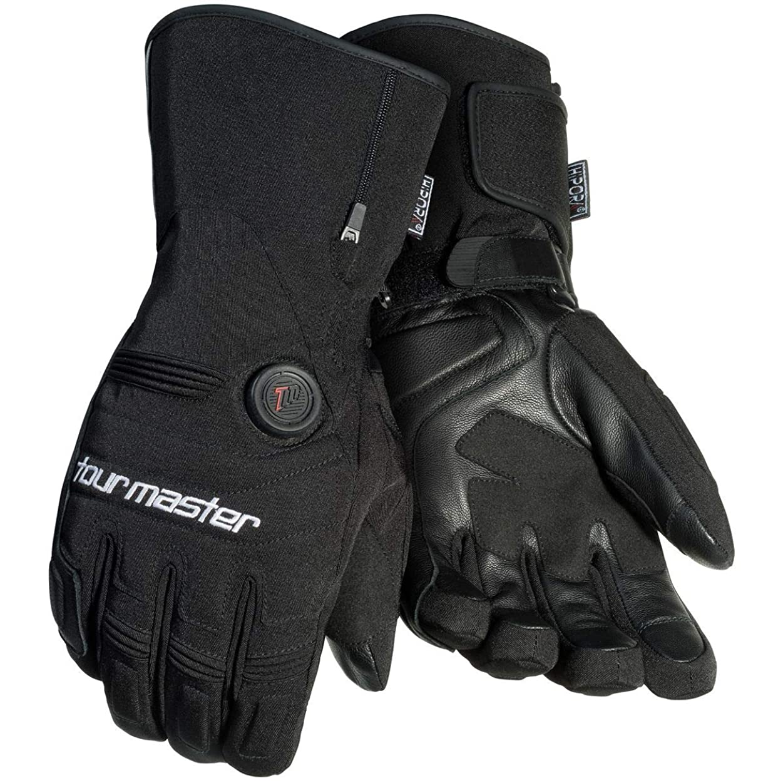 コインランドリー模索エレベーターツアーマスターSynergy 7.4?V Womens Textile Street Racing Motorcycle Gloves L ブラック 8430-7405-76